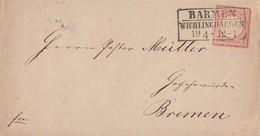 DR Brief EF Minr.4 Barmen Wichlinghausen 19.4. - Briefe U. Dokumente