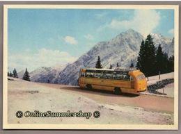 BRD - AK : Kraftpost Bus Im Berchtesgaden - Roßfeldstraße - Busse & Reisebusse