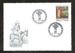 """3 064 35-Santons De Provence-Oblitération """"Sceaux"""" - Christianity"""