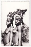 AFRIQUE NOIRE   Petites Danseuses Africaines    Femme Nue - Postcards