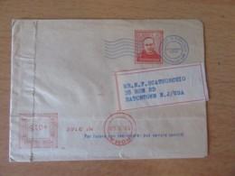 Italie Vers USA - Belle Oblitération / Empreinte Mécanique P. DI FRANCIA Roma 1960 Sur Enveloppe - 1946-.. République