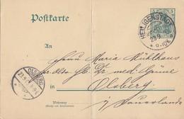 DR Ganzsache KOS Heiligenstadt (Eichsfeld) 23.9.03 - Deutschland