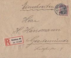 DR R-Brief EF Minr.90I Hamburg 10.11.13 Perfin Ansehen !!!!!!!!!!!!! - Deutschland