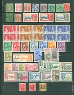 Virgin Islands LOT Of 54 Incl. 3 SETS MOSTLY MINT Royals Views Peace Coronation War Tax More WYSIWYG  A04s - British Virgin Islands