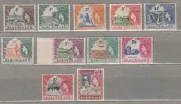 BASUTOLAND 1954 MLH (*) Mi 46-56, SG 43-53 #23267 - Basutoland (1933-1966)