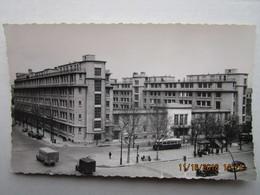 CP 75 PARIS Porte De Vincennes Cours Vincenne Rue Des Pyrénées - Lycée Hélène Boucher - Autobus Parisien , Taxi En 1960 - Enseignement, Ecoles Et Universités
