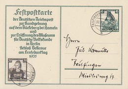 DR Ganzsache Minr.P255 Zfr. Minr.596 Tailfingen 30.12.35 - Deutschland