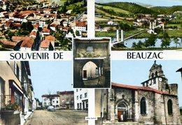 43  Souvenir De BEAUZAC - Frankreich
