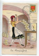Barré Dayez Fromage Roquefort - Illustrators & Photographers
