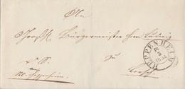 Thurn & Taxis Brief K2 Heppenheim 18.3.1834 - Thurn Und Taxis
