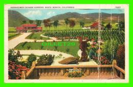 SANTA MONICA, CA - BERNHEIMER CHINESE GARDENS - TRAVEL IN 1938 - - United States