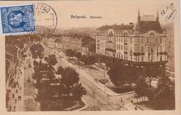 CPA- SERBIE- BELGRAD - Terasia-1919- 2scans - Serbia