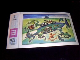 Vignette; Timbre Image Avec Sa Gomme  Nestlé Et Kohler  Album  Les Merveilles Du Monde No 5 Serie 126 Timbre No 4 - Nestlé