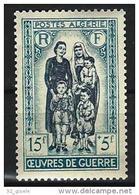 """Algerie YT 330 """" Oeuvres De Guerre """" 1955 Neuf** - Nuevos"""