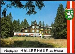 Austria / Monichkirchen / Ausflugsziel: Hallerhaus Am Wechsel / Uncirculated, Unused - Hotels & Restaurants