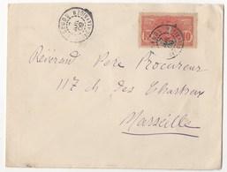 LETTRE DE SEGOU DE 1909 - Lettres & Documents