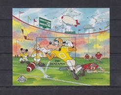 E574. Tanzania - MNH - Cartoons - Disney's - Cartoon Characters - Goofy - Disney