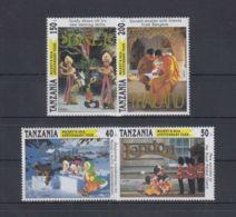 S178. Tanzania - MNH - Cartoons - Disney's - Cartoon Characters - Thailand - Disney