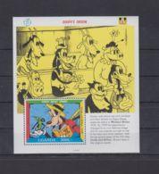 C574. Uganda - MNH - Cartoons - Disney's - Cartoon Characters - Goofy - Disney