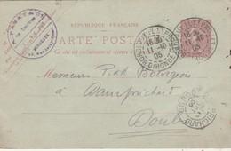 Carte Commerciale 1905 / Entier / PAZAT / Electricien / 33 Bordeaux - Maps