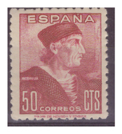 SPAGNA - 1946 - GIORNATA DEL FRANCOBOLLO. EFFIGIE DI NEBRIJA. - MH* - 1931-Oggi: 2. Rep. - ... Juan Carlos I