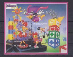 Z178. St. Vincent - MNH - Cartoons - Disney's - Cartoon Characters -Darkwing Duc - Disney