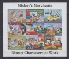 Y178. St. Vincent - MNH - Cartoons - Disney's - Cartoon Characters -Mickey-Minni - Disney