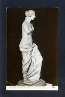 Musée Du Louvre *Venus De Milo* Ed. A.N. Paris Nº 165. Nueva. - Esculturas
