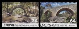 Cyprus 2018 Mih. 1391/92 Europa-Cept. Bridges MNH ** - Cyprus (Republic)