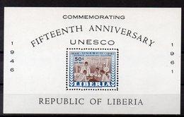 LIBERIA  Timbre Neuf ** De 1961  ( Ref 2502 )  UNESCO - Liberia