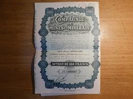 Compagnie De Mines Et Minerais (Box2) - Mines