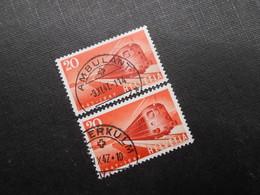 CH ZNr.279.2.02  20C - 1947 - Z CHF 50,00 - Plattenfehler - ABART - Suisse