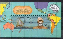 SAMOA  Timbre Neuf ** De 1974  ( Ref 2505C )   Navigateur - UPU - Samoa