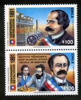 """CHILE ESTAMPILLAS 1991; CENTENARIO DE LA REVOLUCIÓN DE 1891"""". - Chile"""