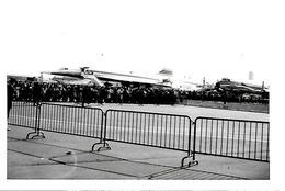 11-photos-N&B-6X6cm-+4Photos 12x9Cm-Vers 1960 ??-SALON De L AVIATION Au BOURGET-TBE - Aviation