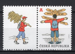CZECH REPUBLIC - 2012 Tourism - Personalized Stamp  M379 - Czech Republic