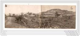 6454 AK/PC/ CARTE PHOTO/983 VUE PANORAMIQUE EN 2 VOLETS DE PANDA CHITURU KATANGA PHO TO.GABRIEL.L/30/10/22 - Kinshasa - Leopoldville