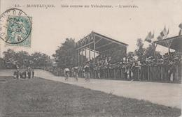 CPA Montluçon - Une Course Au Vélodrome - L'arrivée (belle Animation) - Montlucon