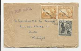 Cover * Malta * 1955 * Damaged On Back Side - Malta