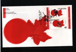Canada 1998 Sumo FDC - Ringen