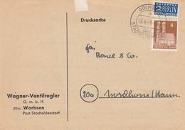 LETTRE ALLEMAGNE. NOTOPFER 2 BERLIN. GOLMBACH / 3 - Bizone