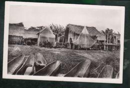 CP (Afr.) Côte D'Ivoire - Lagune De Dabou  -  Village Ebrié Sur Pilotis - Ivory Coast