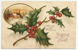 Kerstmis Noël 1906 - Reliëf - Weihnachten