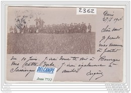 8286 AK/PC/CARTE PHOTO/2362 /PARIS /GROUPE MILITAIRES/1904 - Da Identificare