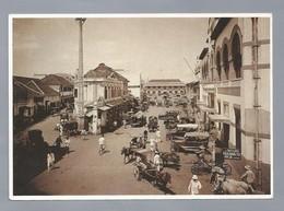 ID.- SOERABAJA. HANDELSTRAAT. ART UNLIMITED AMSTERDAM. Koninklijk Instituut Voor De Tropen. Old Car. - Indonesia