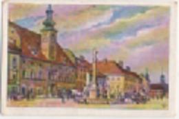 Zigarettenfabrik W. Lande Dresden: Deutschtum Im Ausland, Bild 80: Marburg An Der Drau (Maribor, Slovenia), Rathaus - Sigarette