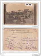 5881 AK/PC/CARTE PHOTO /2541 /MILITAIRE EN MANOEUVRE - Cartoline