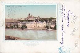 AK Prage Praha - Gräfl. Straka'sche Akademie - 1901 (37739) - Tschechische Republik