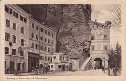 AK Salzburg - Klausentor Und Felsenhäuser - 1914 (37740) - Salzburg Stadt