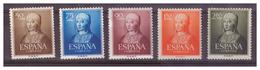SPAGNA - 1951 - 5° CENTENARIO DELLA NASCITA DI ISABELLA LA CATTOLICA. SERIE COMPLETA. MH* - 1951-60 Unused Stamps